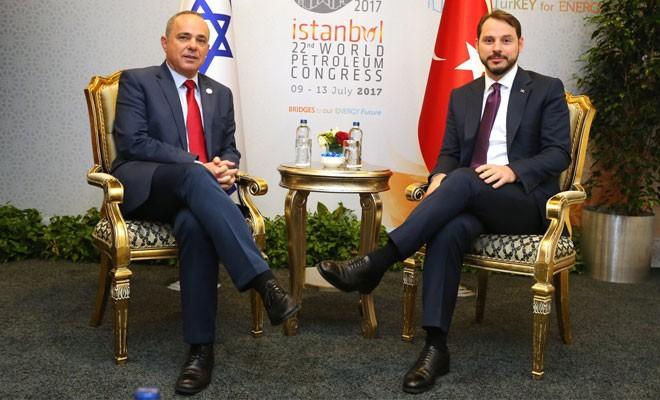 Türkiye ve İsrail, boru hattı için yıl sonu hedefini koydu
