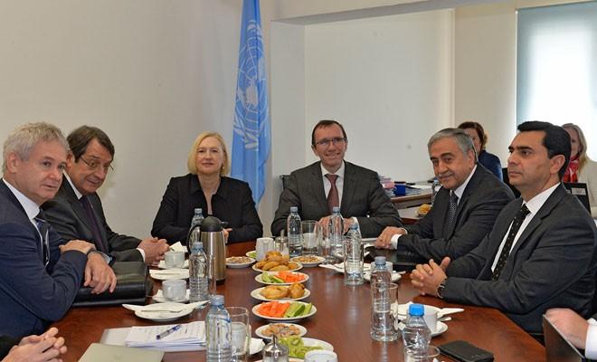 BM: Liderler Kıbrıs Konferansı'nın Mart başı toplanmasını talep etti