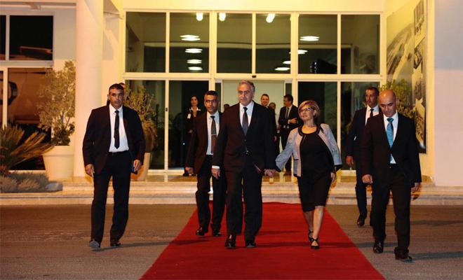 Akıncı, Erdoğan'ın davetlisi olarak İstanbul'da