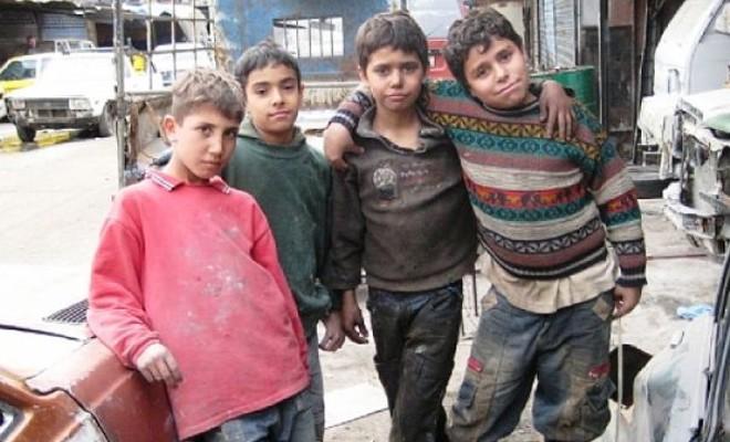 Türkiye'de 2 milyona yakın çocuk işçi bulunuyor!
