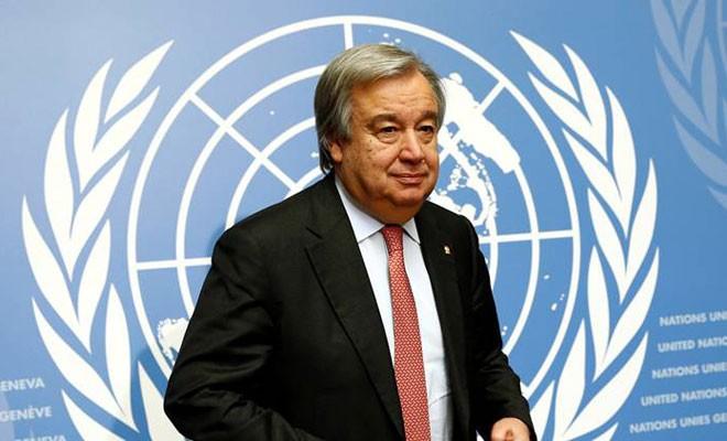 Guterres konferansın açılışına katılacak