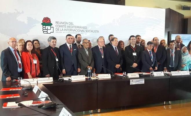 TDP, Sosyalist Enternasyonal Akdeniz Komitesi toplantısına katıldı