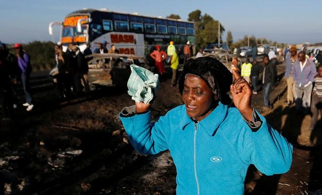 Kenya'da tanker faciası