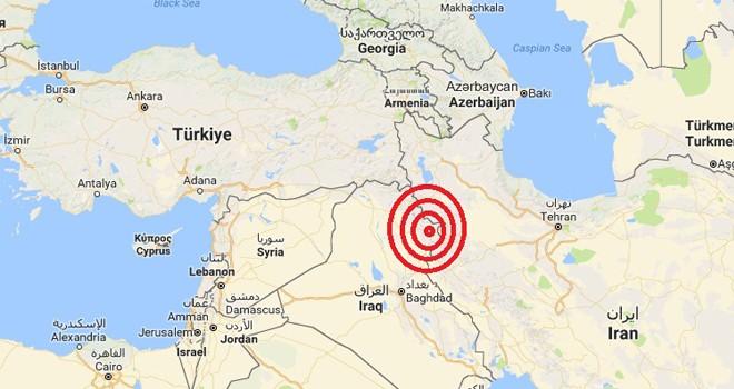 Irak'ta 7,3 şiddetinde deprem: En az yedi kişi yaşamını yitirdi