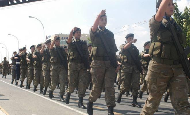 Sözleşmeli kadın askerlerin üçte biri komando olmak istiyor
