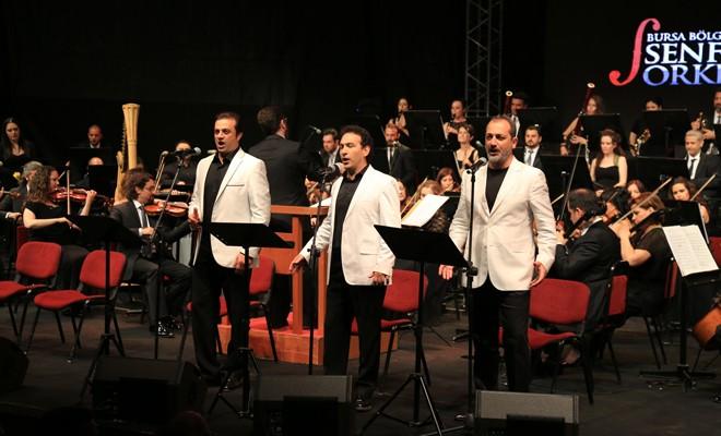 Kuzey Kıbrıs Müzik Festivali 3 Tenor konseri ile başlıyor