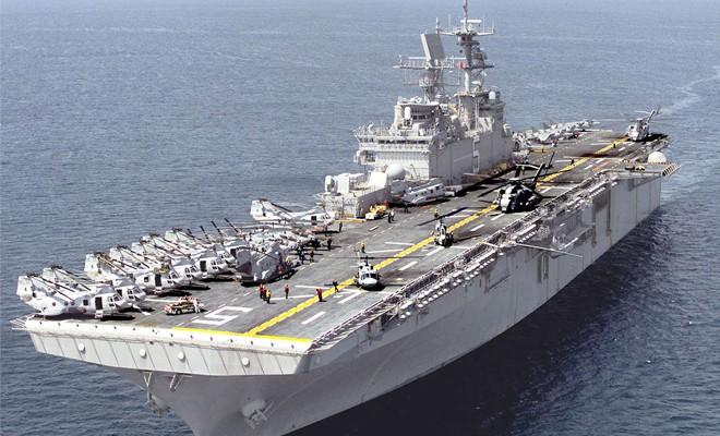 Akdeniz'de hareketlilik: ABD donanması Kıbrıs açıklarında