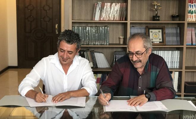 DAÜ ile İran Tasarımcılar Birliği arasında işbirliği anlaşması imzalandı