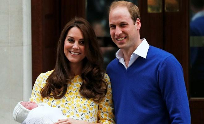 İngiltere kraliyet ailesinde 3'üncü çocuk sevinci