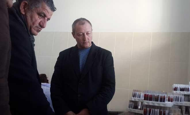 Naimoğluları Veteriner Dairesi'ni ziyaret etti