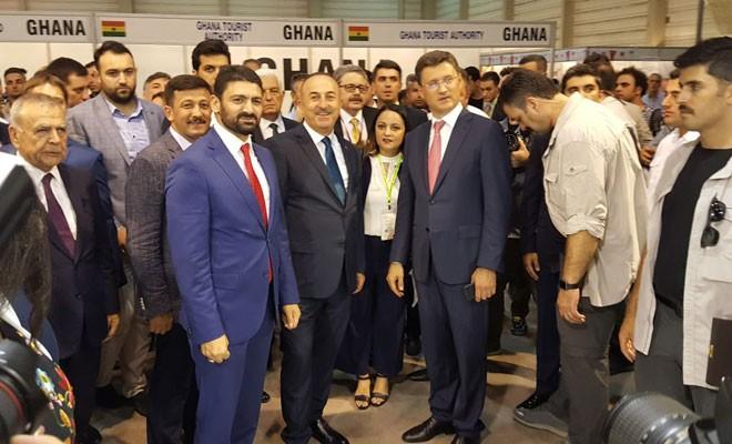 Atun, İzmir Fuarı'nın açılışına katıldı