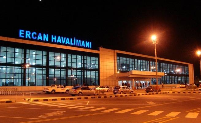 Ercan bayram boyunca on binlerce yolcuya hizmet verdi