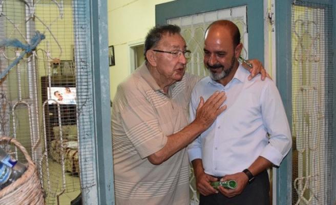 Hasan Öztaş Sütlüce'yi ziyaret etti