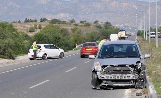 Bir haftada 63 trafik kazası, 2 ölü, 63 yaralı