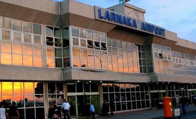 Larnaka Havalimanı'nda tatbikat