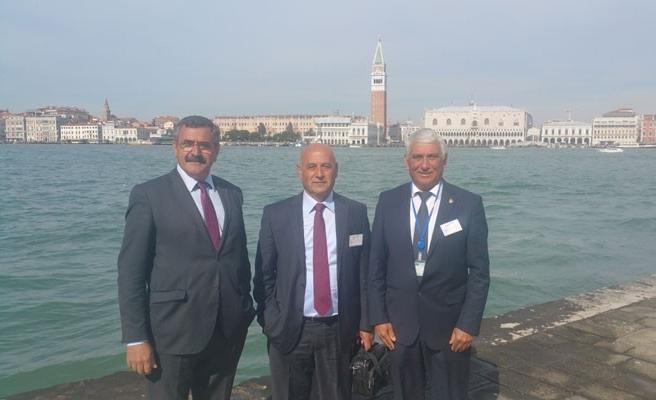 Başkanlar Venedik'te toplantıya katıldı