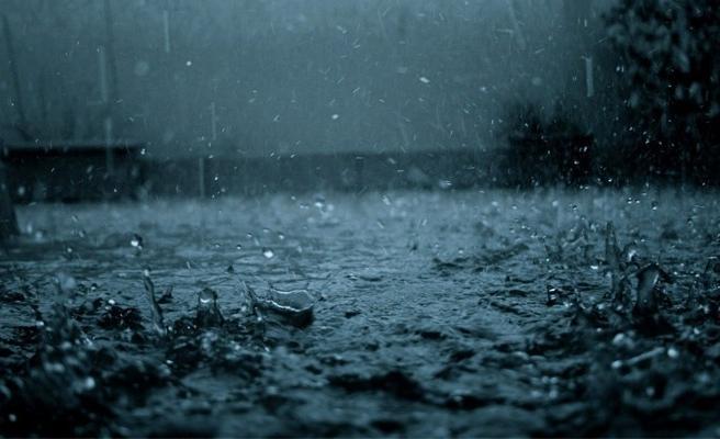 Güzelyurt'ta dün metrekareye 16 kilogram yağış düştü