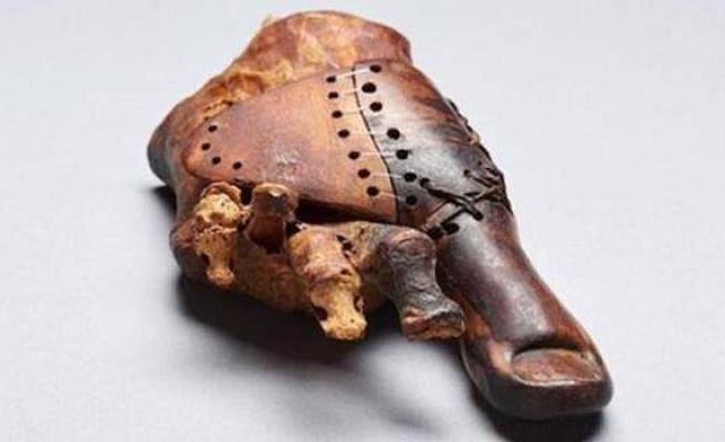Mısır'da 3000 yıllık protez bulundu