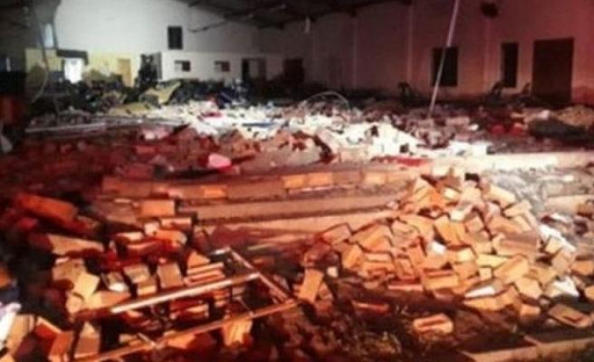 Güney Afrika'da kilise çöktü