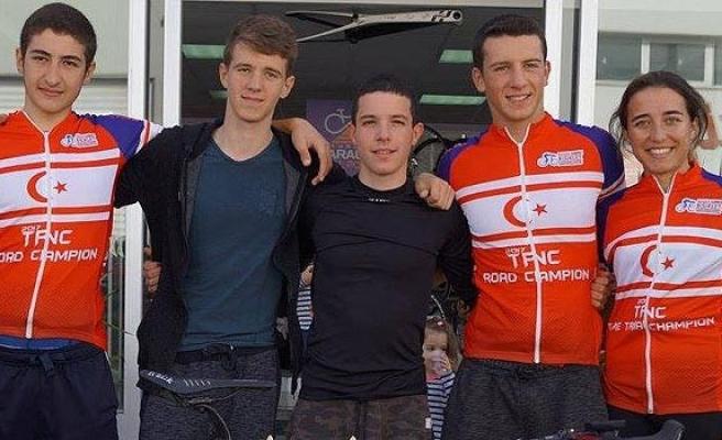 Bisiklette şampiyon Sevinç ve Aydındağ