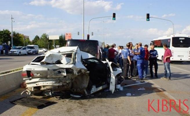 Bir haftada 79 trafik kazası