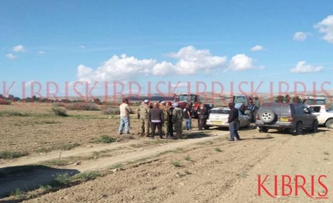Kıbrıslı Türk  çiftçilere sözlü taciz