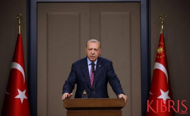 Erdoğan: Amerika'nın Doğu Akdeniz'de ne hakkı var