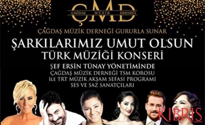 Çağdaş müzik derneği, SOS çocuk köyü yararına Türk Müziği konseri düzenliyor