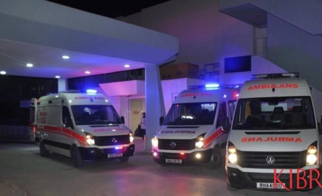 Dikmen-Lefkoşa yolunda kaza: 1 yaralı