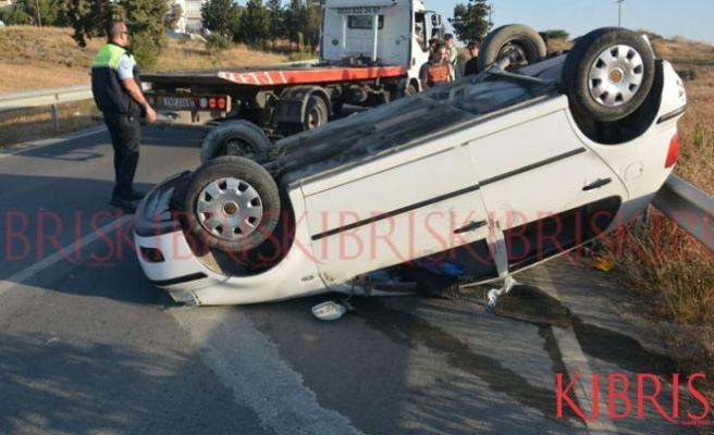 İki genç hafif yaralandı