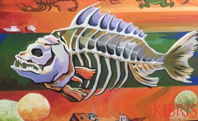 Kazakistanlı ressamların sergisi YDÜ'de