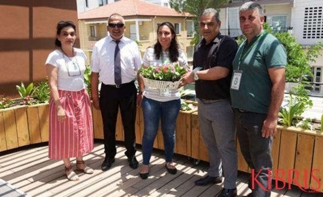 """LTB, Lefkoşa'nın ilk """"Yeşil Balkon""""larını belirledi"""