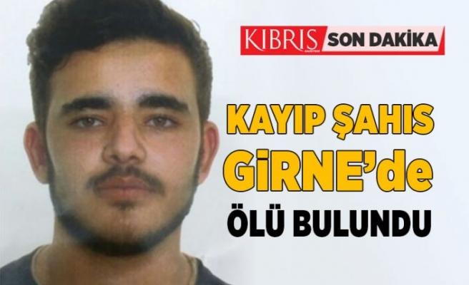 Girne'de ölü olarak bulundu...