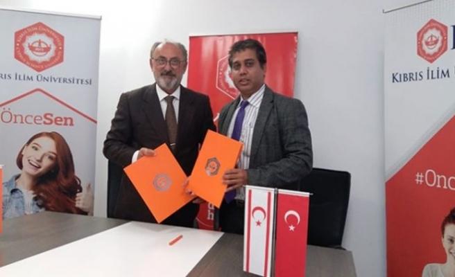 İki Üniversite arasında iş birliği anlaşması