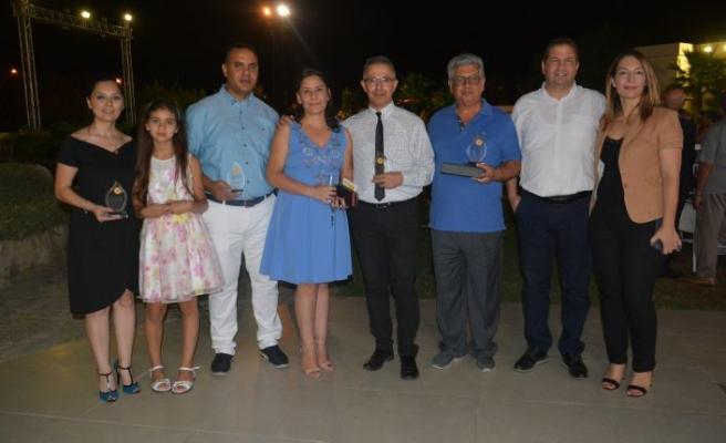 KIBRIS'a 4 başarı, 1 onur ödülü