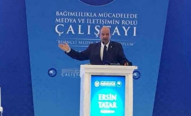 Tatar: Uyuşturucu sorununun çözümü için elimizden geleni yapacağız