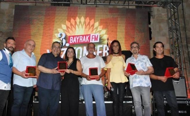 Bayrak FM Yaz Konserleri'nin üçüncüsü dün akşam yapıldı