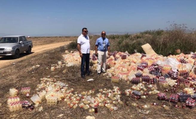 Çevreyi kirleten şahıs hakkında yasal işlem! 8 bin TL para cezası kesildi