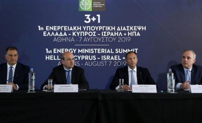 Doğu Akdeniz krizi: 4 ülkeden enerji işbirliğini genişletme kararı