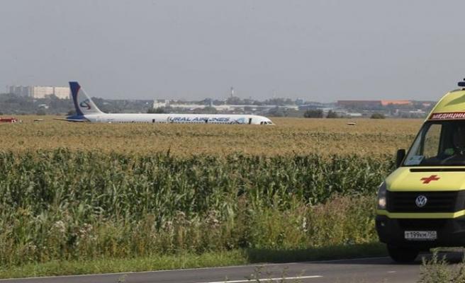 Kuş sürüsüne çarpan yolcu uçağı acil iniş yaptı