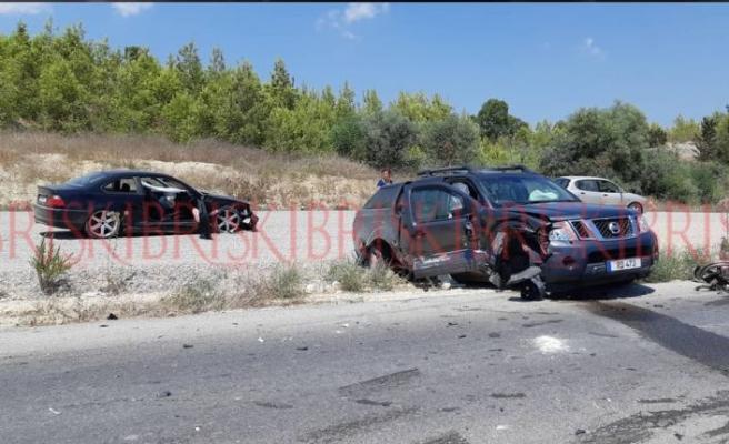 SON DAKİKA: Gazimağusa-Karpaz anayolunda kaza