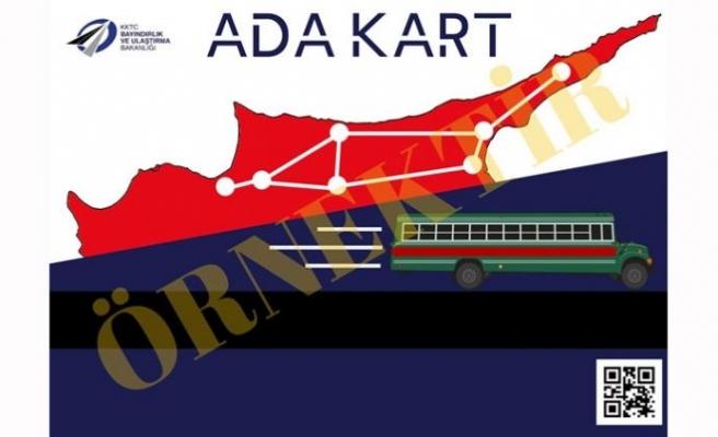 """Toplu taşıma araçlarında yeni sistem: """"ADA kart"""""""