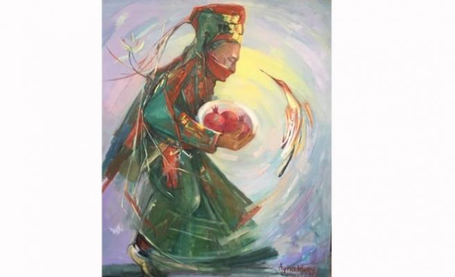 Türkmenistanlı sanatçıların sergisi YDÜ'de pazartesi açılıyor