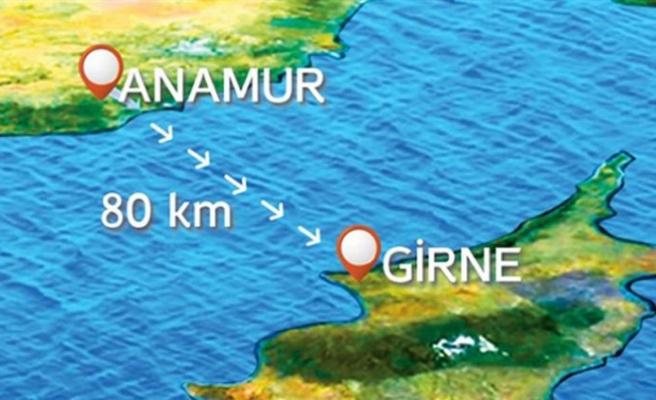 Anamur'la feribot seferleri başlayacak
