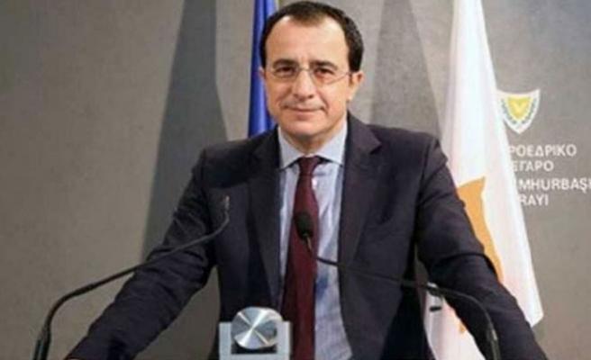 Hristodulidis, Fransız Büyükelçisiyle görüştü
