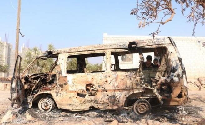 Anadolu Ajansı Bağdadi'nin öldürüldüğü iddia edilen yeri görüntüledi