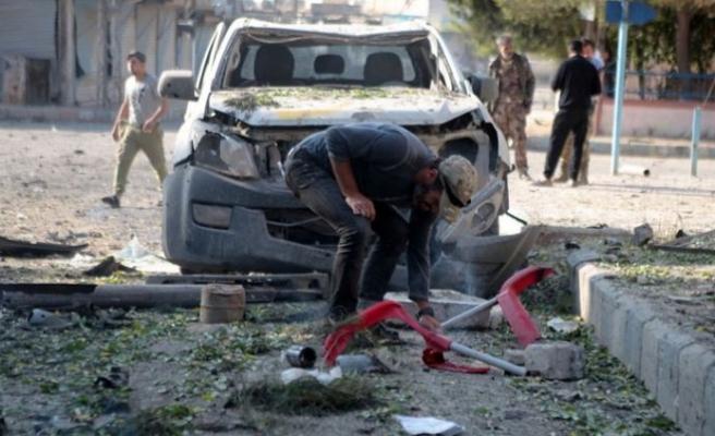 Barış Pınarı bölgesinde intihar saldırısı