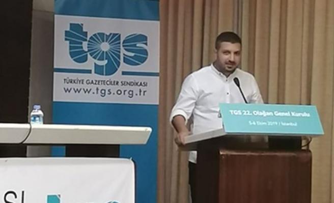 BASIN-SEN, TGS Olağan Genel Kurulu'na katıldı