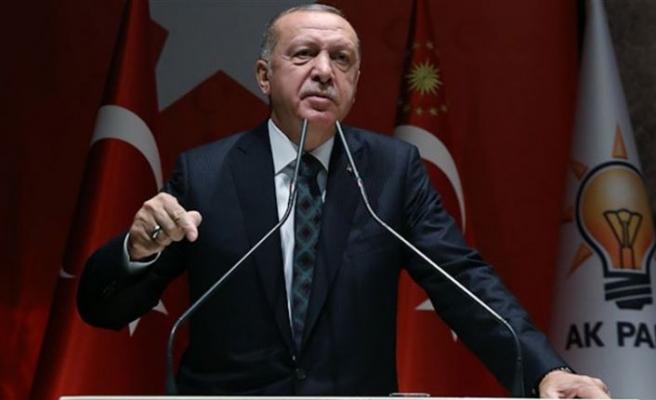 Erdoğan: Başladığımız işi muhakkak bitireceğiz