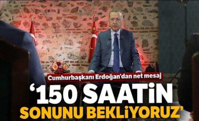 Erdoğan: Biz inşaya geldik, yıkmaya değil